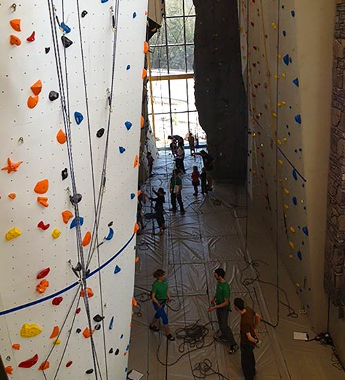 Elevation Place Climbing Wall