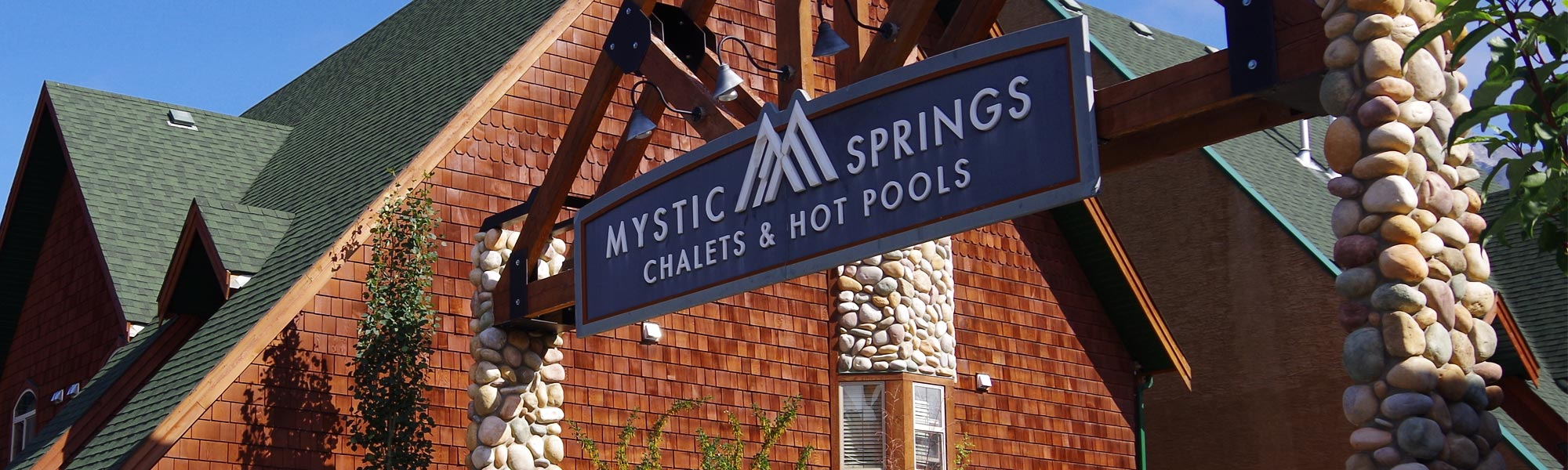 Canmore Hotels - Mystic Springs